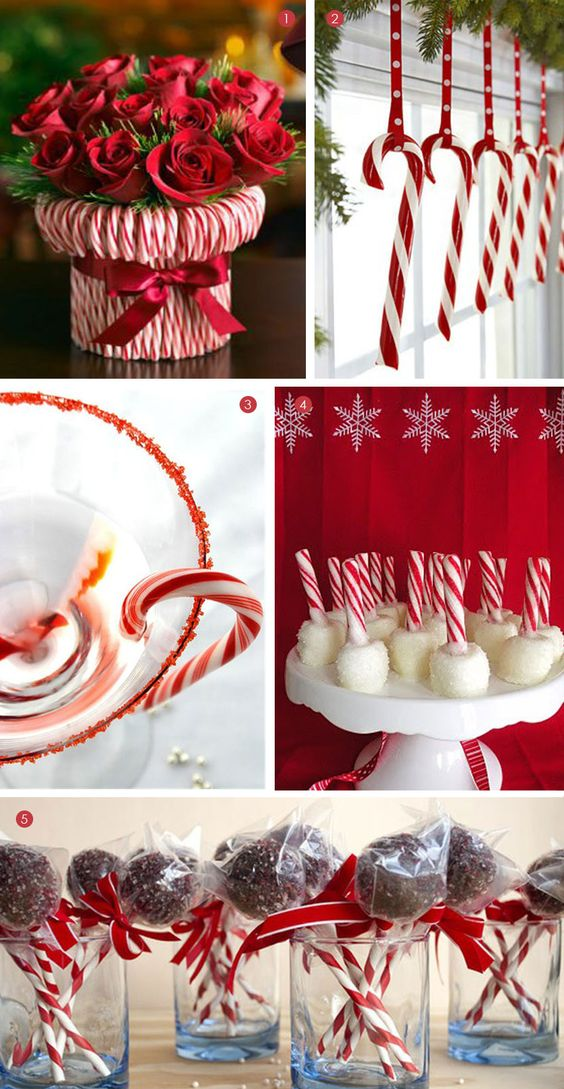 Candy cane ideas christmas pinterest canes