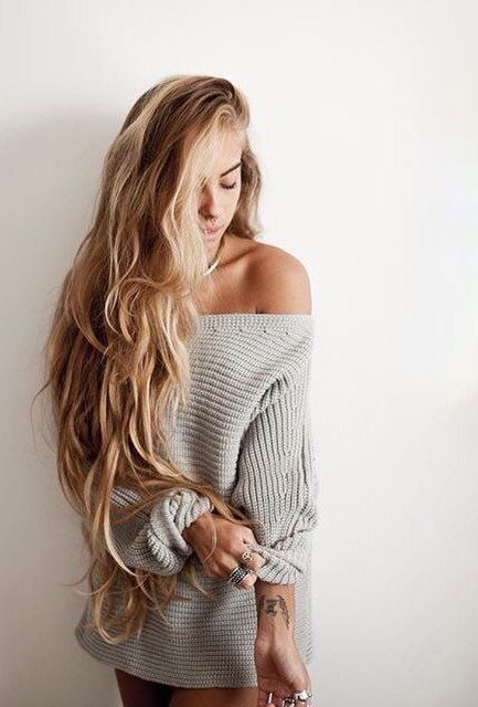 I can't wait tell the day my hair is this long
