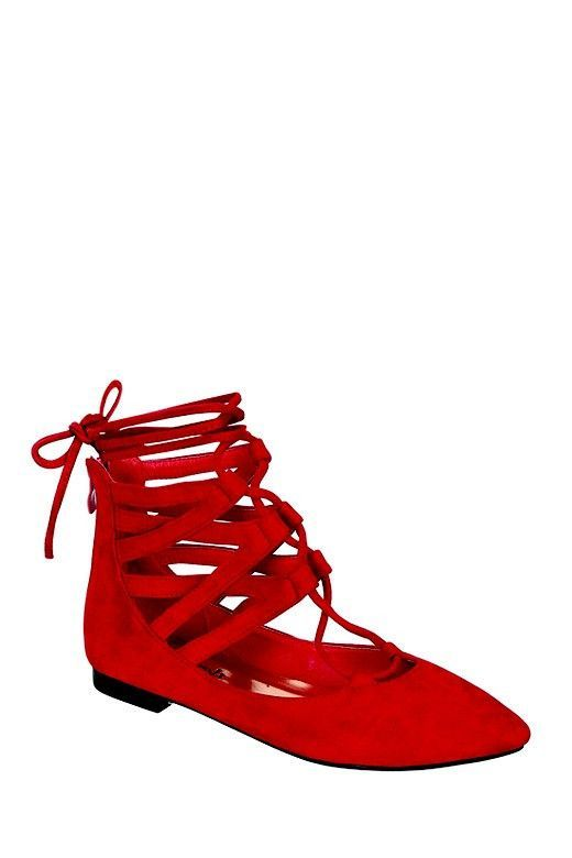 Chic Red Shoes