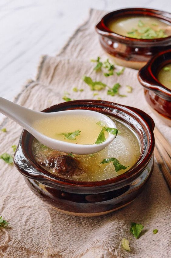 Simple Oxtail Soup