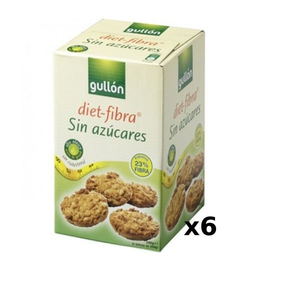 Gullon diet fibra cookies recipes