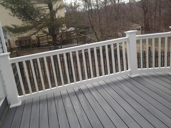 Longevity vinyl deck railing system vinyls decks and
