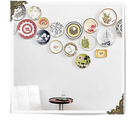 coleção de pratos - Dica Viver Bem Agora