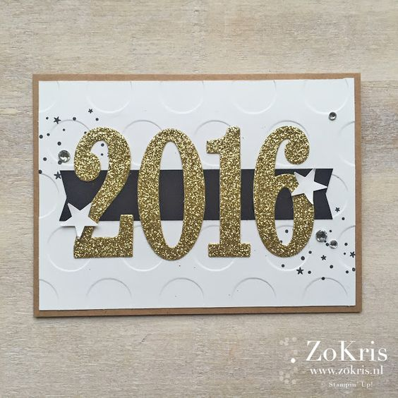 Stampin' Up! - Holly Jolly Christmas, Large Number Framelits - ZoKris: