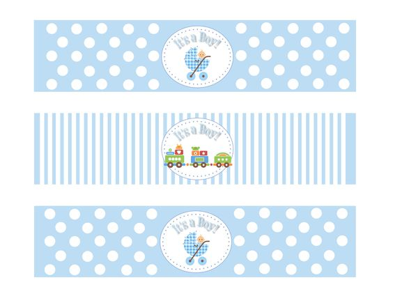 water bottle labels free baby shower - Google Search | Baby Shower ...