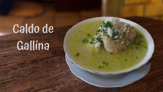 Caldo De Gallina Criolla Receta Ecuatoriana Paso A Paso Receta Caldo De Gallina Caldo De Sopa De Gallina