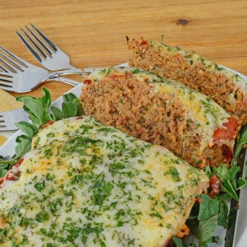 Italian Meatloaf Blends Italian Sausage And Ground Beef With Spices And Cheese For A Tender One Italian Meatloaf Recipes Italian Meatloaf Good Meatloaf Recipe