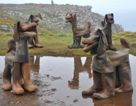 Gumboot Dog Art | The WHOot