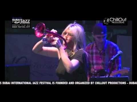 Cindy Bradley Live at the 10th Dubai Int'l Jazz Festival 2012 (Jazz Garden)
