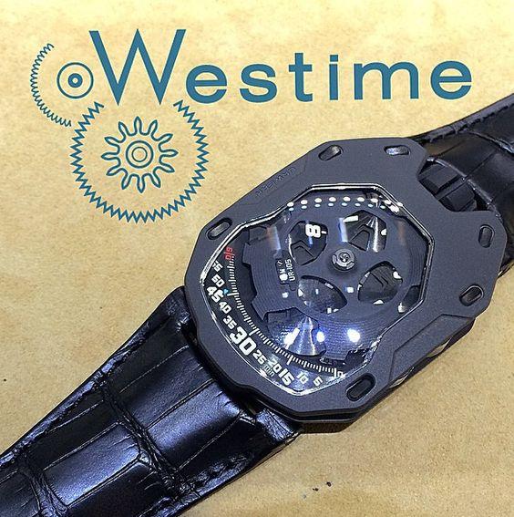UR-105 AlTiN, URWERK by westimewatches