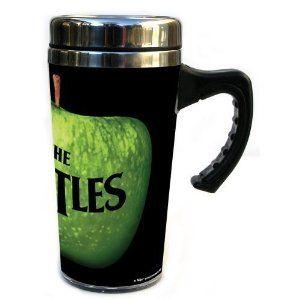 The Beatles Green Apple Travel Mug