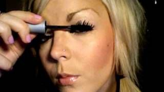 """How to """"FAKE"""" false eyelashes. This trick really, really works! I did it this morning and love it."""
