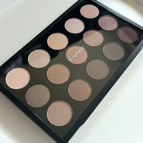 My favourite makeup is any nude smokey eye. This mac palette is heaven and i needs to have it!