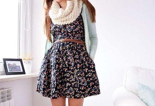 Resultado de imagem para vestidos de primavera tumblr