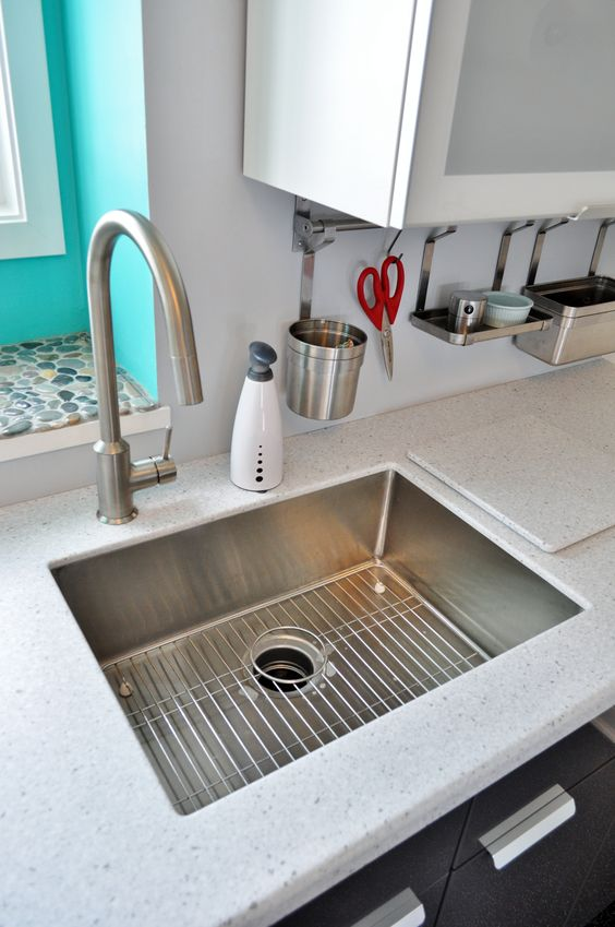 Ikea Faucet Is The Ringskar With The Boholmen Single Bowl