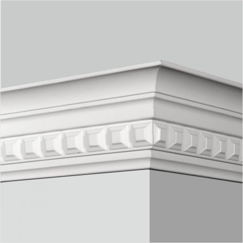 Polyurethane Dentil Crown Molding Crown Molding Architrave Molding