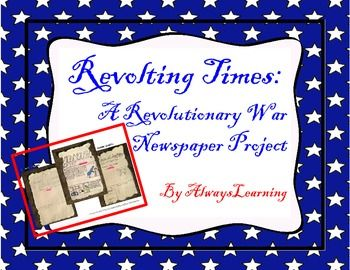 Research writing writing and student on pinterest for Revolutionary war newspaper template
