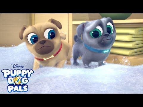 Cleanin Pup Puppy Dog Pals Disney Junior Youtube Disney Junior Dogs And Puppies Christmas Crafts Diy
