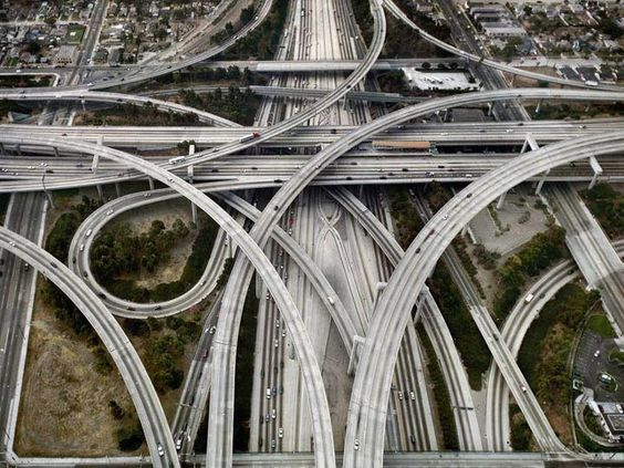 The Judge Harry Pregerson Interchange, LA, California.
