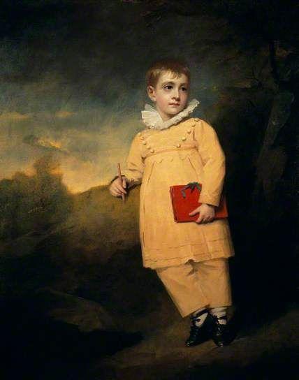 Portrait of Walter Ross, (The Yellow Boy) c.1822 by Sir Henry Raeburn (Scottish 1756-1823):