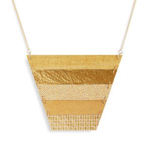 How interesting - Strata Necklace Gold Tone now featured on Fab. $40