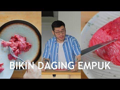 Cara Bikin Daging Sapi Empuk Trik Dan Tips Bikin Daging Tidak Alot Willgozcookingtips Youtube Daging Daging Sapi Tips
