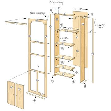 Extra Storage Shelves And Extra Storage Space On Pinterest