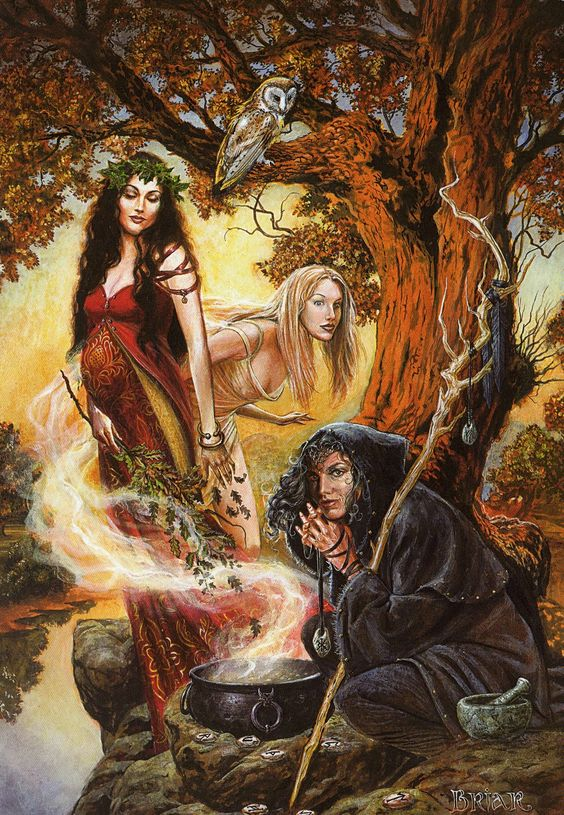 Maiden, Mother, Crone by Briar: