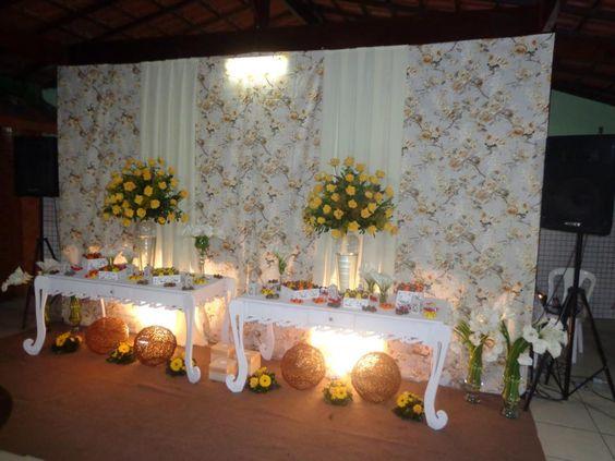 de festas infantis e festas em geral Brandaojed Casamento Amarelo