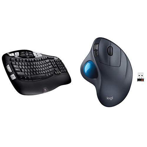 Logitech K350 Wireless Keyboard And M570 Wireless Trackba Https Www Amazon Com Dp B07kndv4w5 Ref Cm Sw R Pi Logitech Keyboard Technology Logitech Wireless