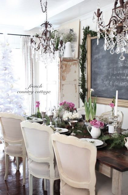 the chandelier flower and chalk board on pinterest