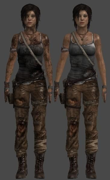 COMPLETE REFERENCE PICTURES FOR THE TOMB RAIDER 2013 COSTUME - laracroftcosplay.com