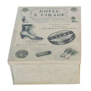 €23,96 Box, For shoe cleaning utensils, zinc