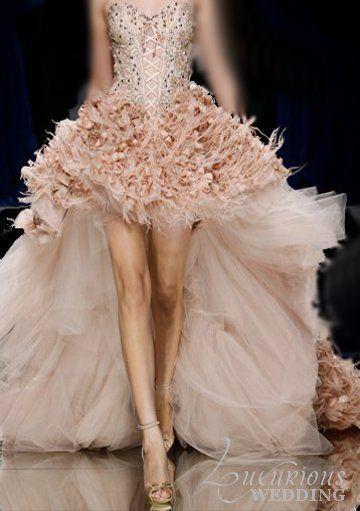 Zuhair Murad wedding gown.