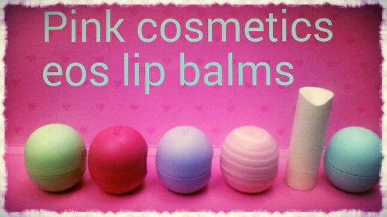 Eos lip balms...just arrived