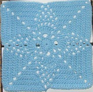 The Left Side of Crochet: Pineapple Blossom