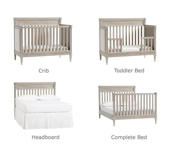 Graham 4 In 1 Toddler Bed Conversion Kit Cribs Convertible Crib