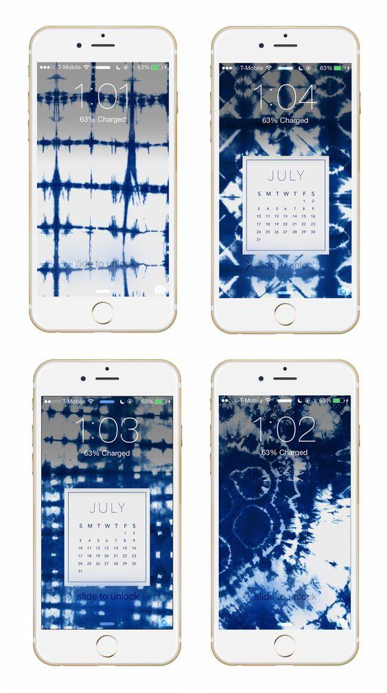 May Designs Blog - SHIBORI PHONE + DESKTOP WALLPAPER DOWNLOADS