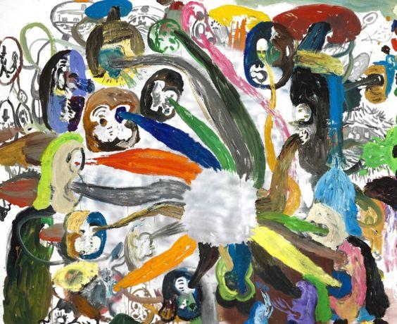 """""""2000 Monky"""" by Tal R (1999)"""