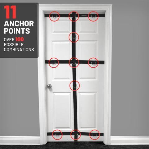 Ultimate Door Anchor Fits 28 36 Width Door Resistance Band Resistance Band Door Anchor No Equipment Workout