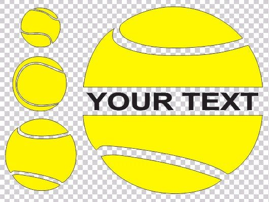 Tennis Balls Svg Three Different Views Tadd Your Own Text Tennis Clipart Balls Clipart Svg Files For Cricut Silhouette Sublimation In 2020 Cricut Svg Clip Art