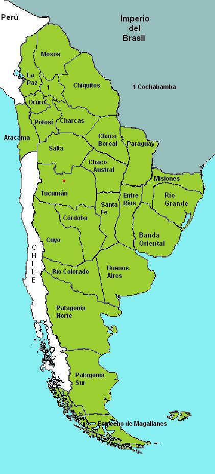 Las Provincias Unidas del Río de la Plata