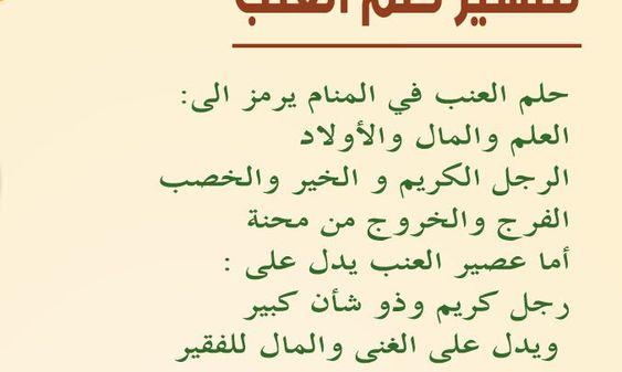 تفسير أكل العنب فى المنام لإبن سيرين Math Arabic Calligraphy Math Equations