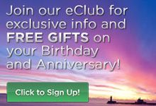 Join our eClub for exclusive info and FREE Gifts on your Birthday and Anniversary! www.innonlakesuperior.com