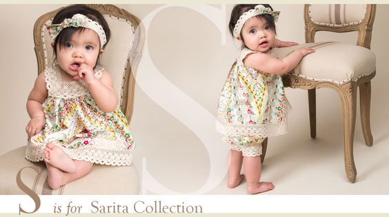 Sarita Collection - Designer Baby Girls Clothing by Baby Beau & Belle