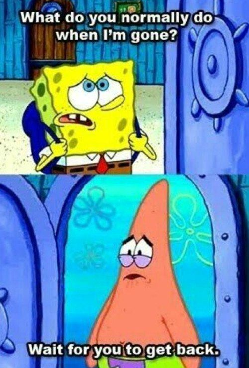 4 Memes To Send Your Boyfriend Spongebob Spongebob Quotes Best Friends