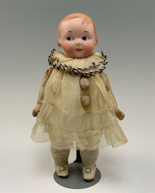 Rar Antique Dolls German Bisque Doll