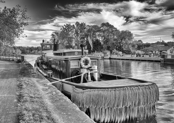 Photo Erie Canal Boat by Rich Mulvey on 500px