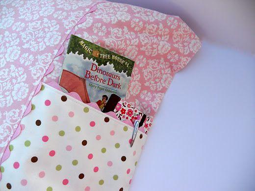 pocket pillowcase - full tutorial