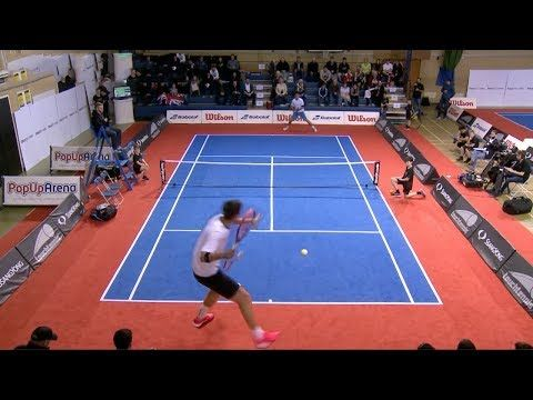 Touch Tennis Amazing Kind Of Tennis Known As Mini Tennis Youtube Tennis Badminton Court Mini